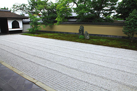 大徳寺塔頭でお抹茶付きの特別拝観